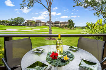 Spacious Lanai perfect for Outdoor Dining