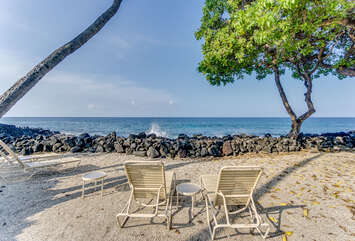 Beach Area with Chairs