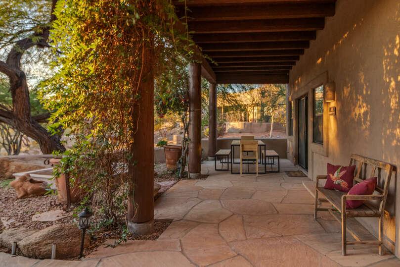 Garden casita patio