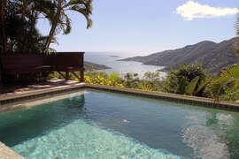 Views from the pool of Coral Bay