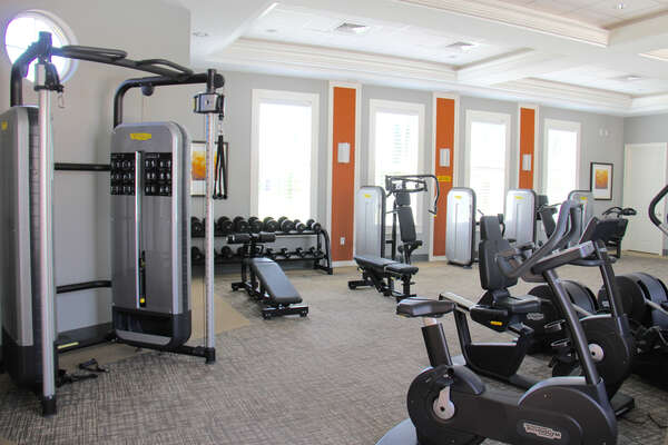 Solterra Resort Clubhouse Fitness Room