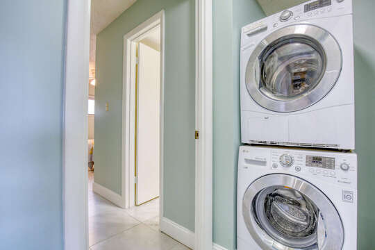 Washer & dryer in the unit for your convenience