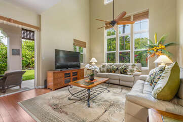 Living Area with two couches