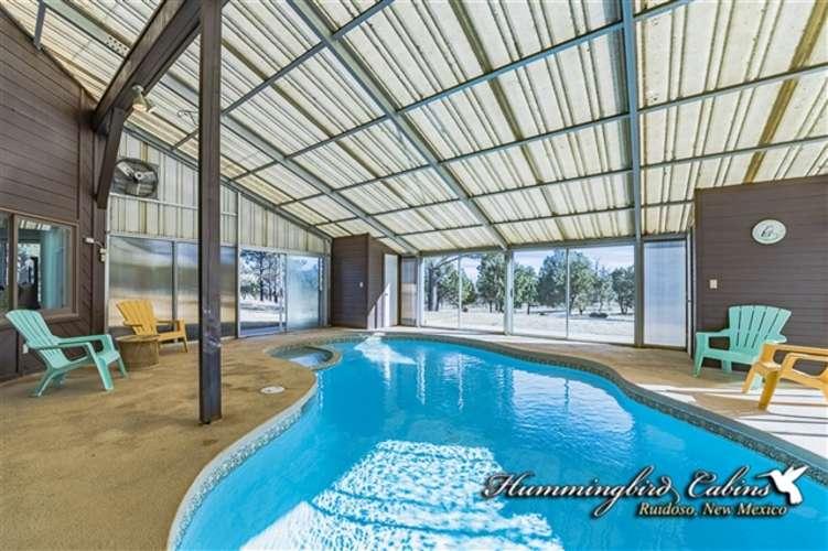 5' deep enclosed pool