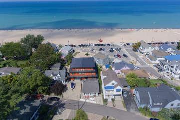 North Beach Aerial Photo
