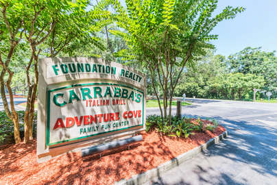 Walk to Carrabba's Italian Grill and Adventure Cove Arcade and Putt Putt