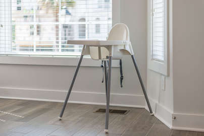 High chair for the smallest member of your family