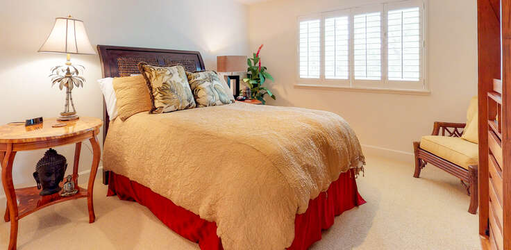 Bright and Cheery Bedroom in our Ko Olina Kai Rental