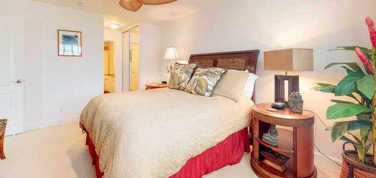 Comfortably Furnished Bedroom in our Ko Olina Kai Rental