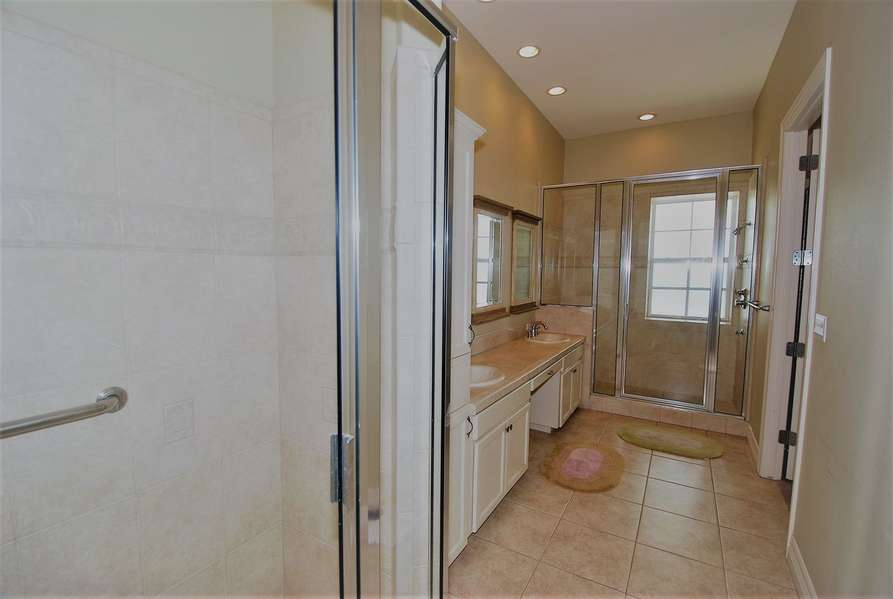 Master Bath with two showers