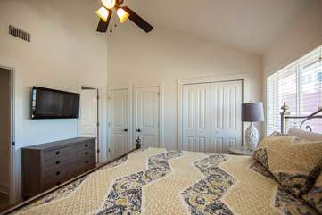 2nd Floor Bedroom with King Bed