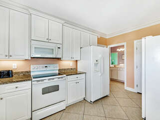 Kitchen with TWO refrigerators