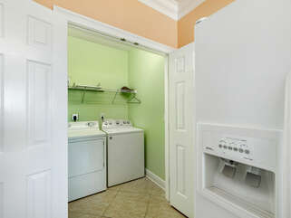Laundry with washer and dryer