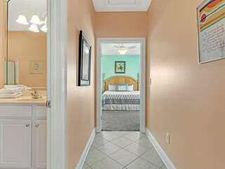 Hall from Bathroom 3 to Bedroom 2