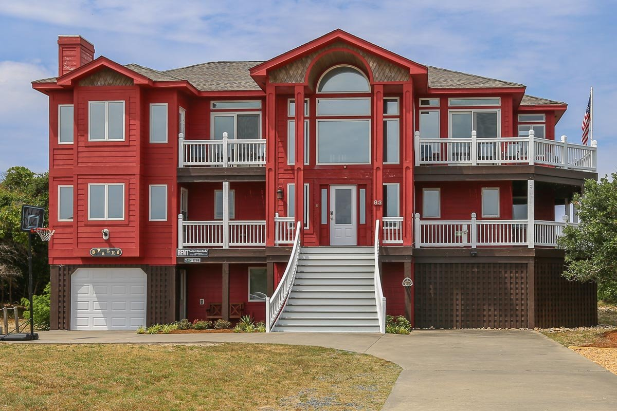 Outer Banks Vacation Rentals - 1298 - 3 PALMS