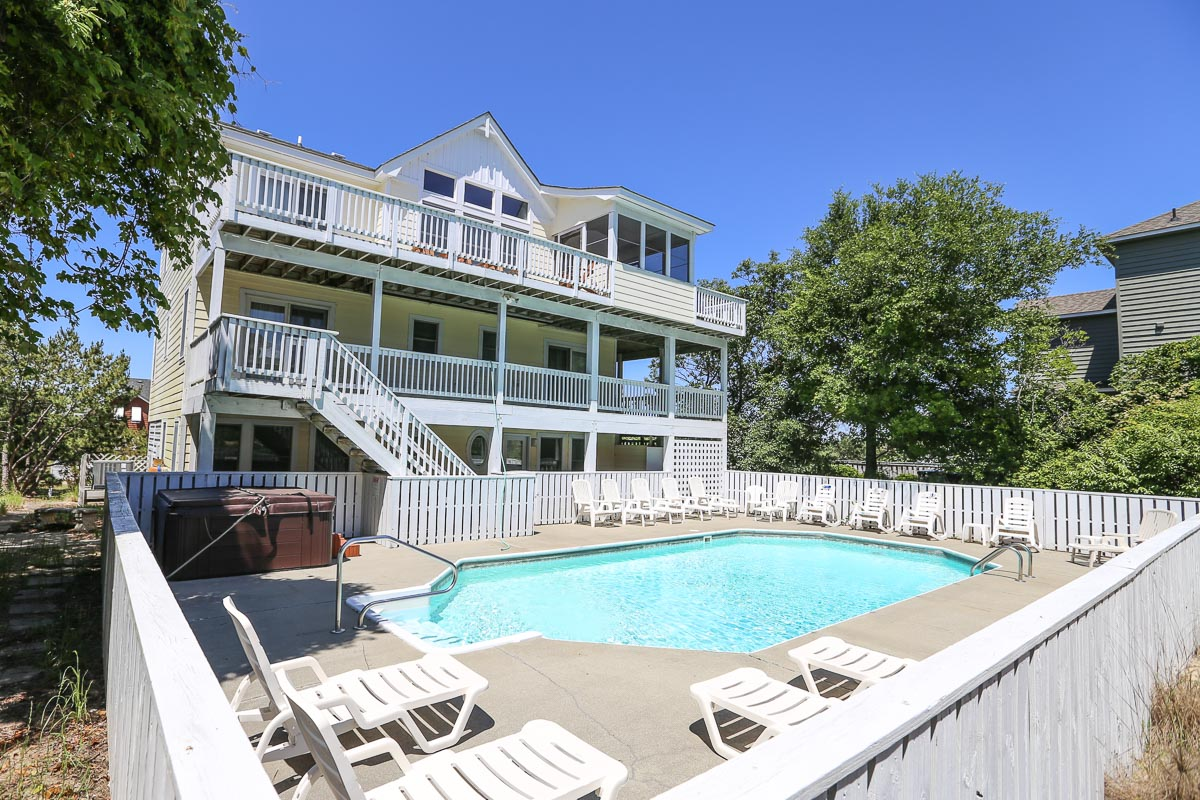 Outer Banks Vacation Rentals - 0374 - NO SECOND THOUGHTS (formally Duck Heights)
