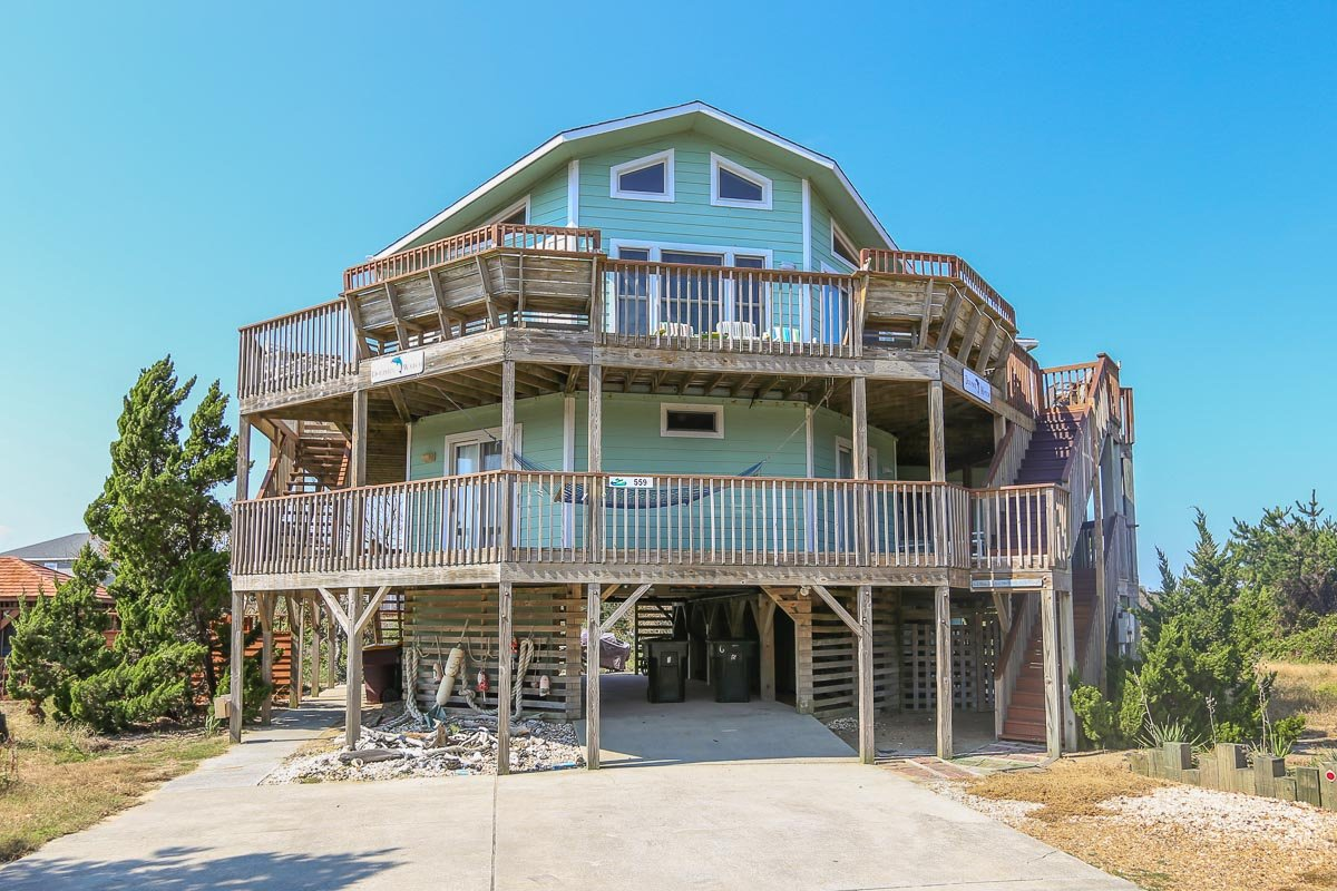 Outer Banks Vacation Rentals - 0559 - DOLPHIN WATCH