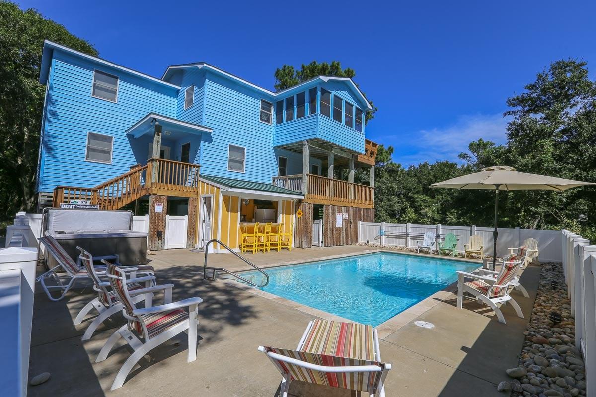 Outer Banks Vacation Rentals - 0579 - JUS BEACHY