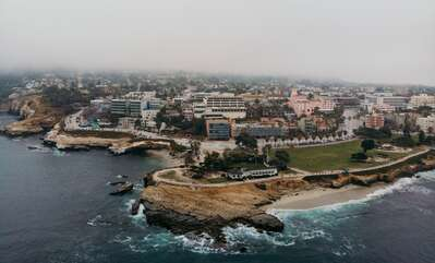 Aerial view of La Jolla