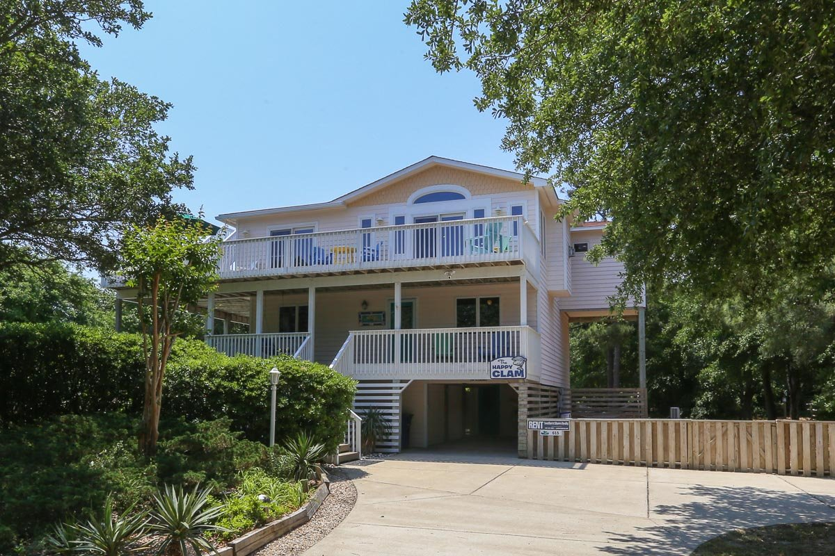 Outer Banks Vacation Rentals - 0615 - THE HAPPY CLAM