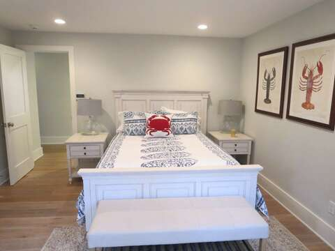 Bedroom 3 with a Queen Bed- 161 Bay Lane Centerville Cape Cod - New England Vacation Rentals