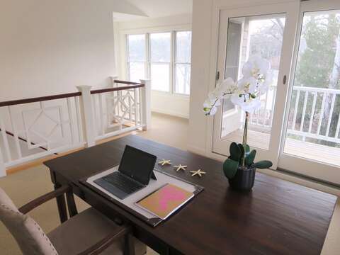 Private office with water views-161 Bay Lane Centerville Cape Cod - New England Vacation Rentals