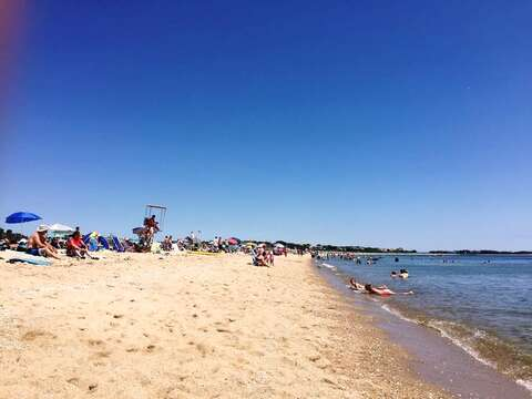 Looking to go to the ocean? Popular Craigville Beach is just about a mile away - Centerville Cape Cod New England Vacation Rentals