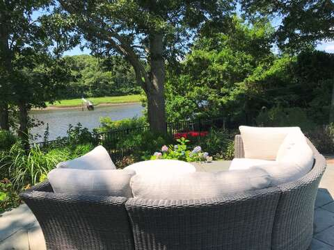 Or just sit back , relax and take in the view! -161 Bay Lane Centerville Cape Cod - New England Vacation Rentals
