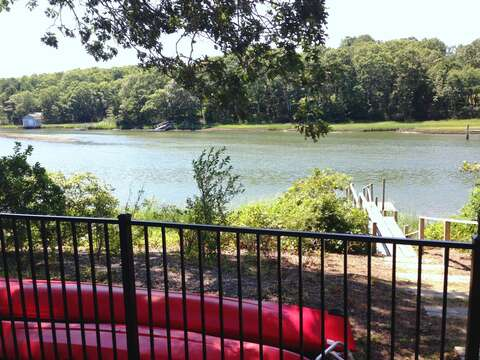 Kayaks and dock available for your use (at own risk) onto Bumps River- No use of motor boats or jet skis on the waterway please-161 Bay Lane Centerville Cape Cod - New England Vacation Rentals