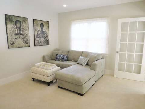 Family room on 2nd floor-161 Bay Lane Centerville Cape Cod - New England Vacation Rentals