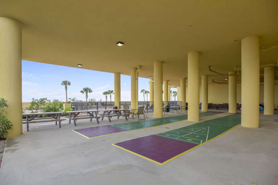Covered Shuffle Board Courts