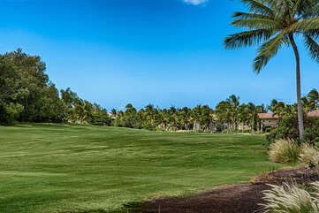 Waikoloa Colony Villas is located on the golf course