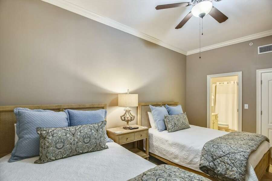 Guest Room has 2 Queen Size Beds and a Private Bath