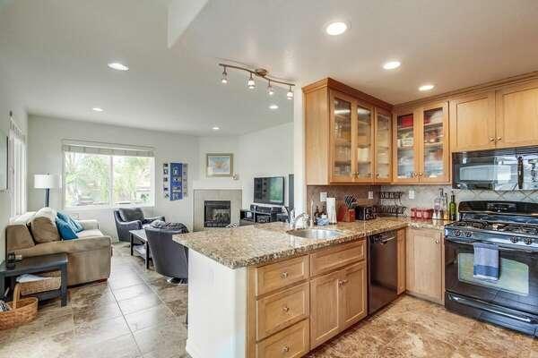 Kitchen & Living Area - 2nd Floor