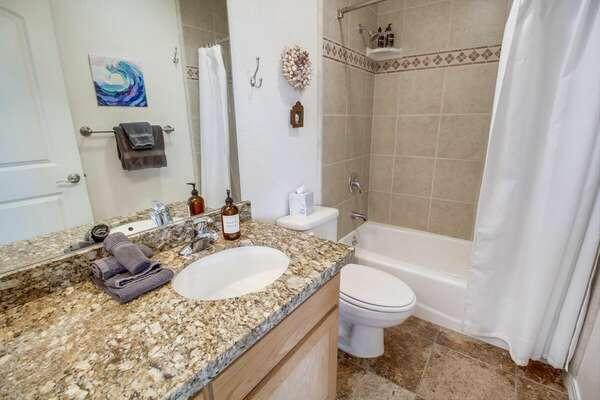 Shared Bathroom w/ Tub/Shower Combo - 2nd Floor