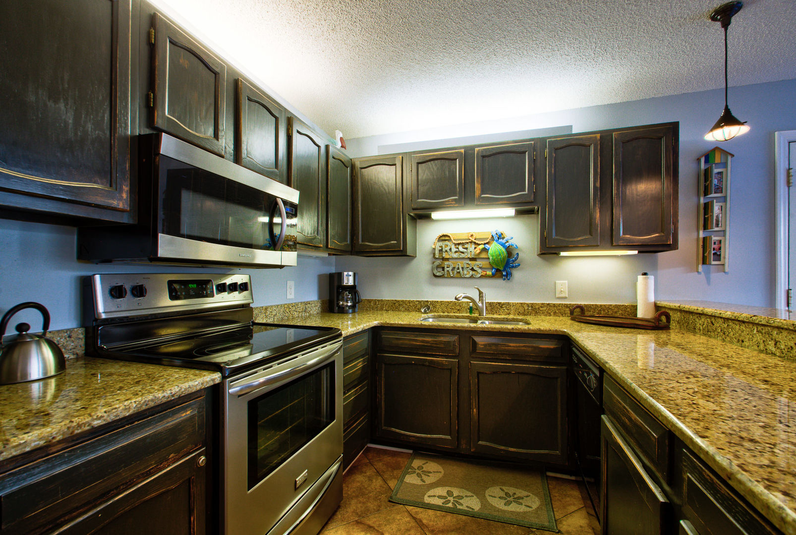 Prepare a Meal in the Fully Equipped Kitchen