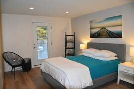 REAR UPSTAIRS BEDROOM SUITE WITH PRIVATE OCEAN VIEW ROOFTOP DECK