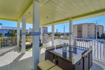Deck outside of upstairs Master Bedroom.  Enjoy the views.