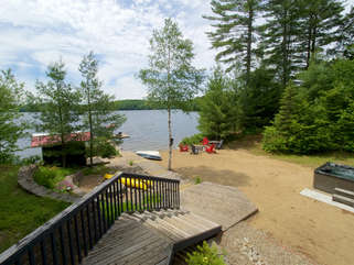 Beachscapes cottage property, Otter Lake