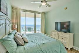 Stunning views from the Master bedroom