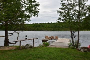 Lakeview with dock Cecebe