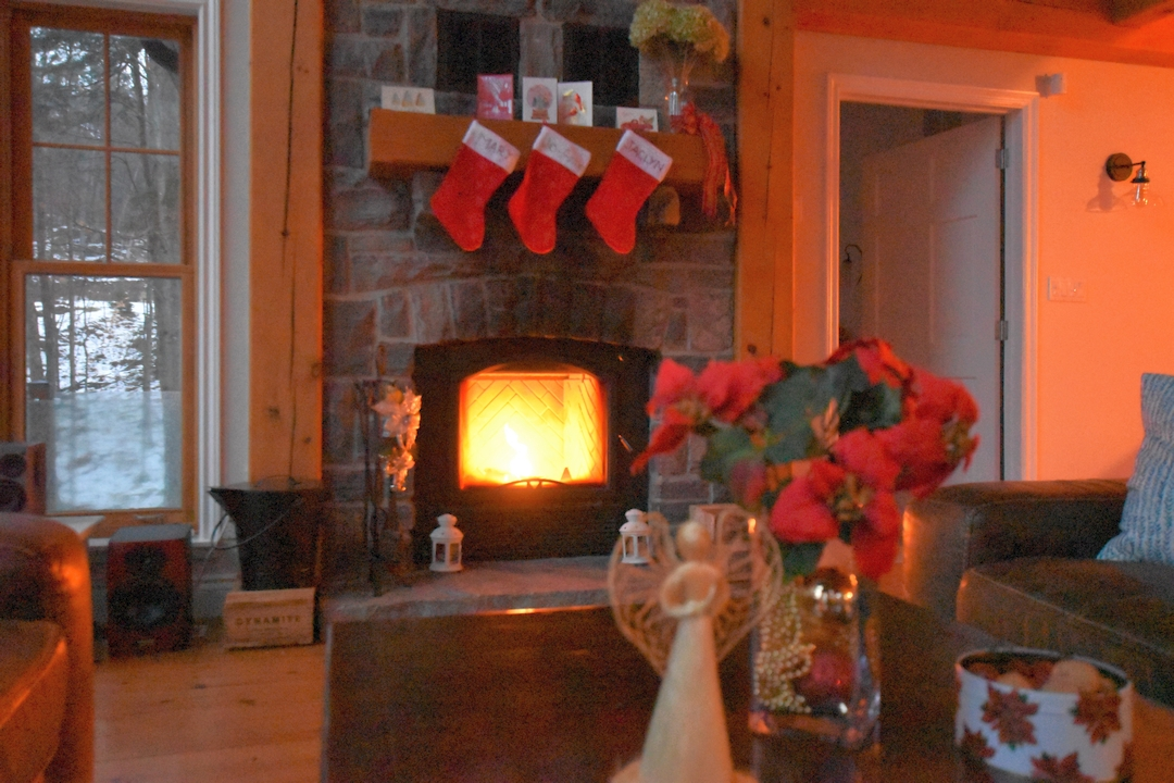 Christmas at the cottage, Fairy Lake, Huntsville, Ontario