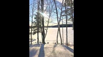 Winter view, Three Mile Lake