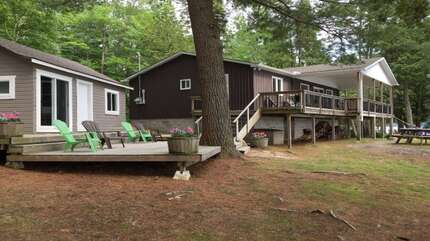 Cottage(right)  Bunkie (left) not for guest use
