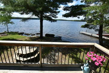 Lakeview from deck