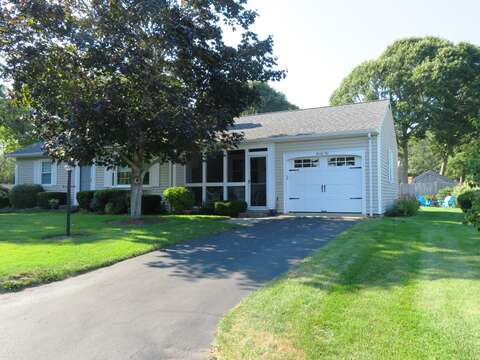 Use of Garage for bikes-parking for 2 cars- 22 Muscovy Lane West Yarmouth Cape Cod - New England Vacation Rentals