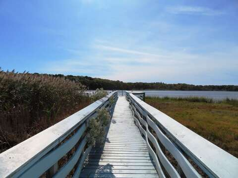 Easy walk to Swan Pond Boardwalk-West Yarmouth Cape Cod - New England Vacation Rentals