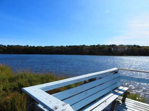 Sit and take in the beauty- you may even see the resident swans! West Yarmouth Cape Cod - New England Vacation Rentals