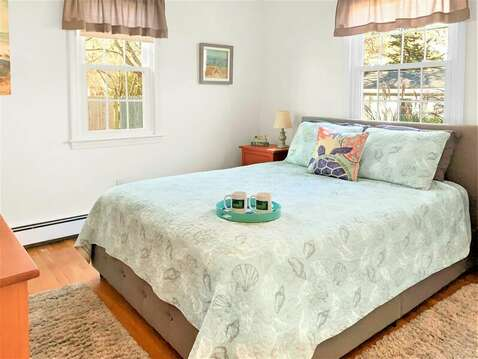 Bedroom 1 with a Queen bed - 22 Muscovy Lane West Yarmouth Cape Cod - New England Vacation Rentals