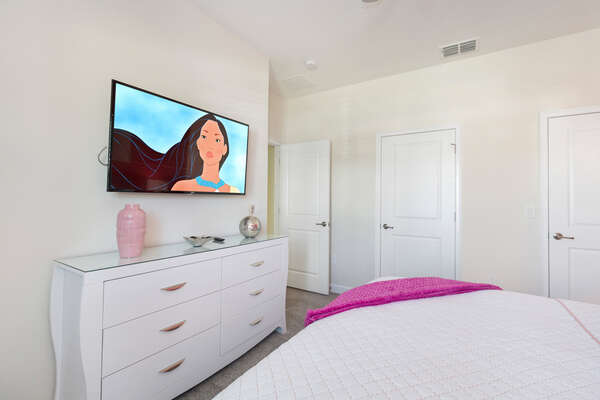 Lay back and watch your favorite movie in the 49-inch SMART TV